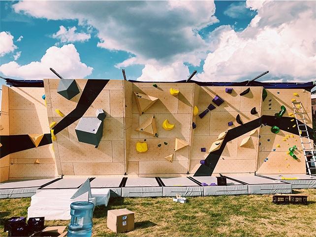 Nomad Summit, bouldering, portfolio
